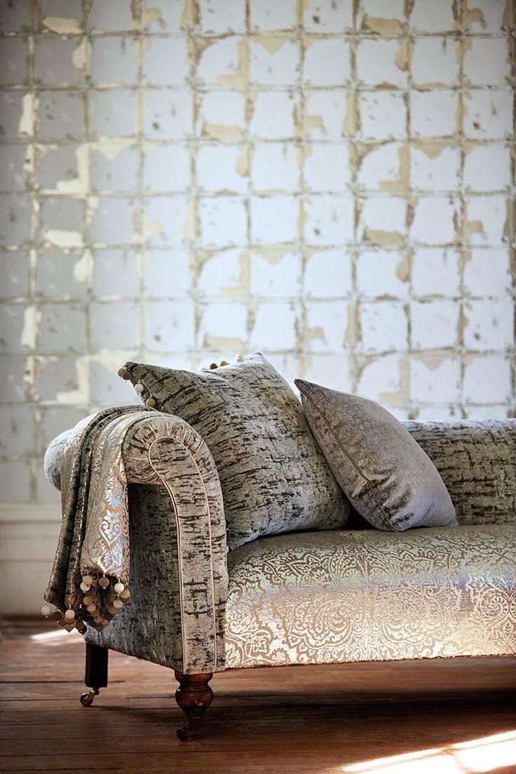 Leonida Collection by Harlequin. #interiordesign #harlequin #wallpaper #fabric