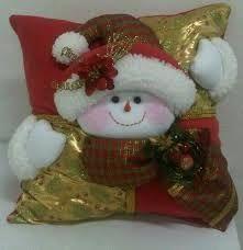 Resultado de imagen para moldes de cojines navideños en polar