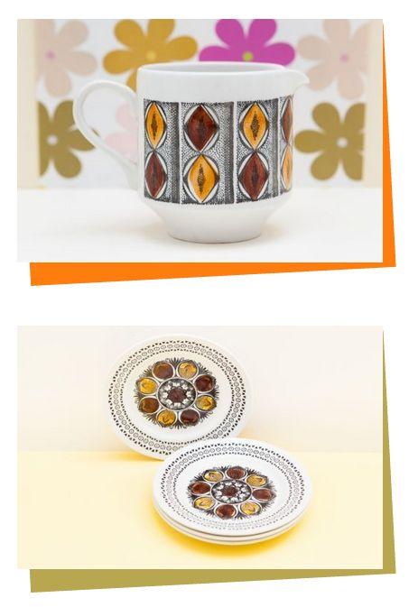 Kathie Winkle & Broadhurst information - Retro and Vintage China, Glassware and Kitchenalia - yay retro!