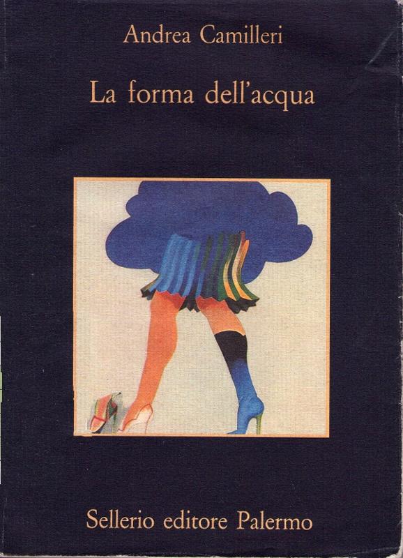 Marzo 1994 started Commissario Montalbano - Andrea Camilleri - La forma dell'acqua