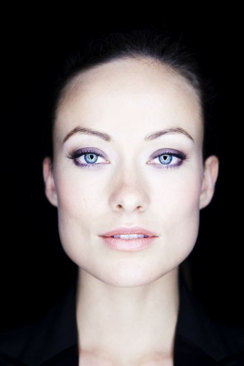 Olivia Wilde...this is a stunning shot. I love how it shows her cheekbones and eyes...Mazing!