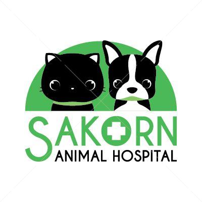 Logo Design for Sakorn Animal Hospital | by chingchingstudio