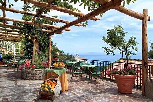 Hotel Locanda Degli Agrumi, Conca Dei Marini, Amalfi Coast, Italy, Terrace by Ithip.com Hotel Collection, via Flickr