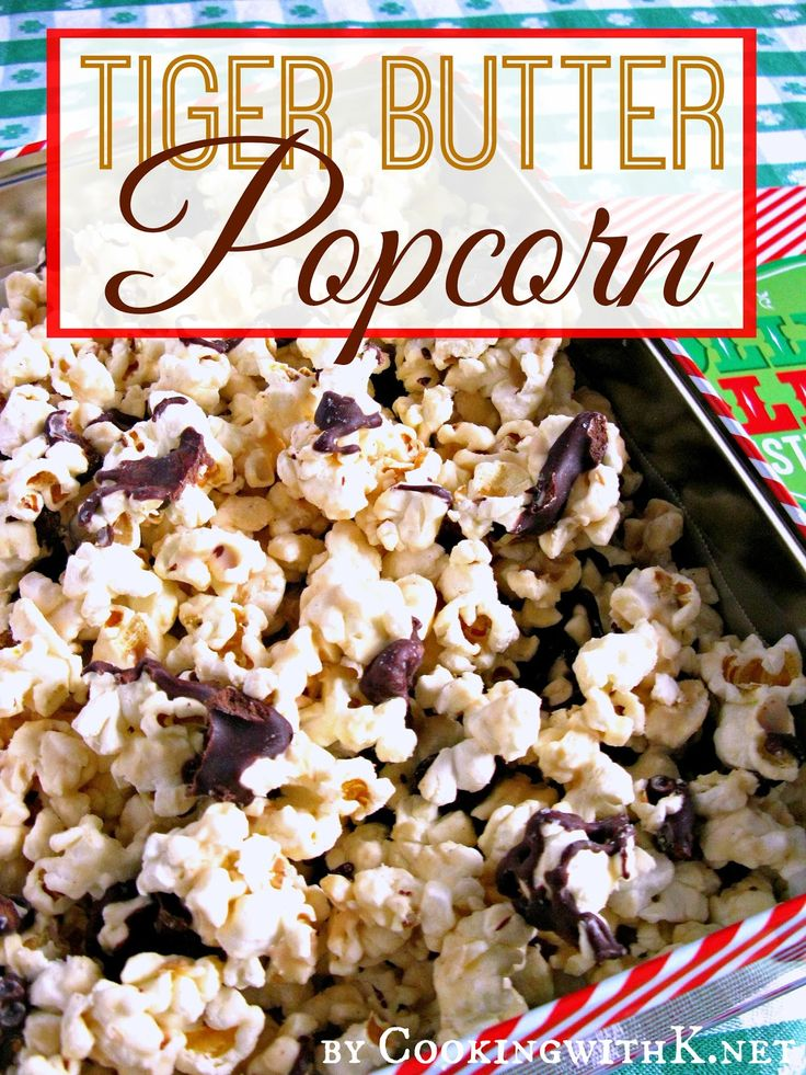 Cooking with K: Jennifer's Tiger Butter Popcorn + Living Letters for Kids Book 1