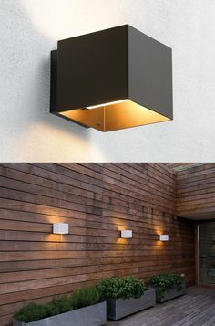 Image result for outdoor wall lights to go with aluminium windows