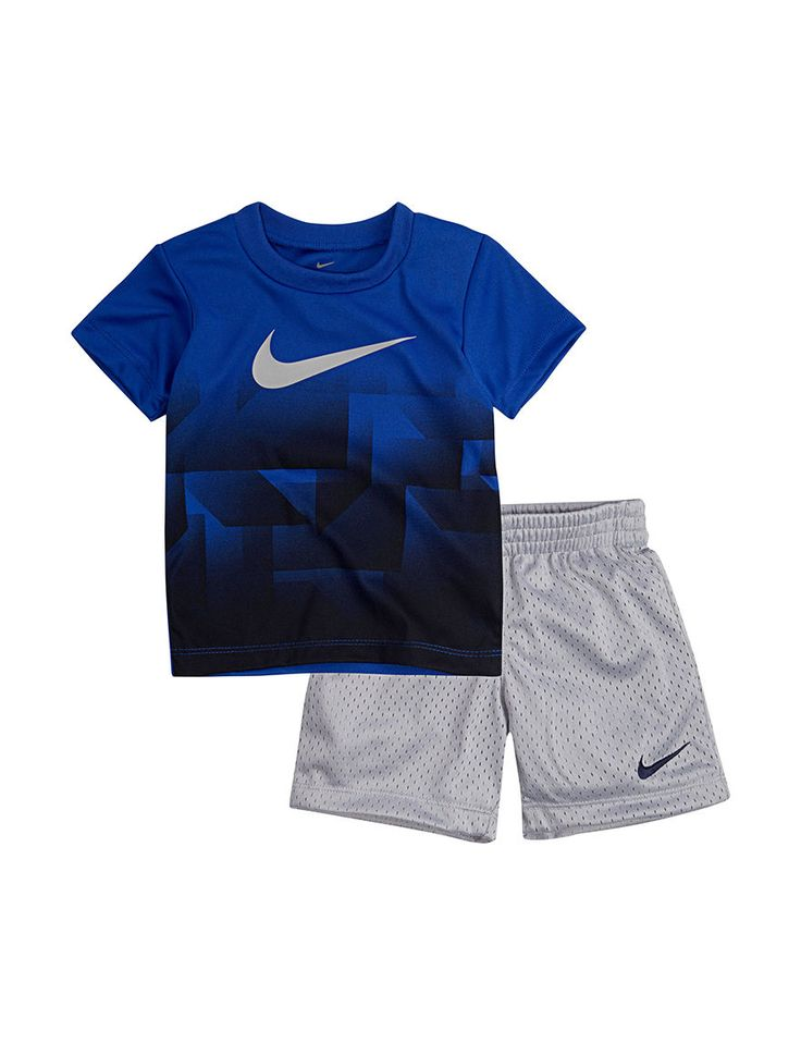 Nike 2-pc. Legacy Ombre T-shirt & Shorts Set - Baby 12-24 Mos. | Stage Stores