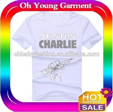 je suis CHARLIE Custom Baseball Tees Cotton T-shirts dri fit shirts wholesale skin tattoo t-shirt #baseball, #tattoo