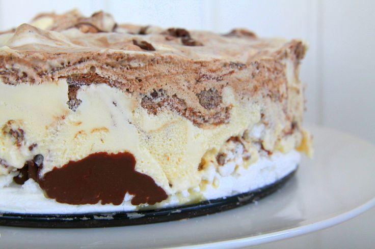 Semifreddo med nutella | Jennys Matblogg