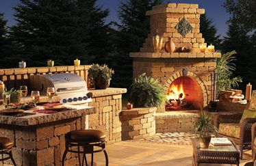 Modern Chiminea For Outdoor Decoration With Or Without Grill Outdoor Chimney Fireplace Kits