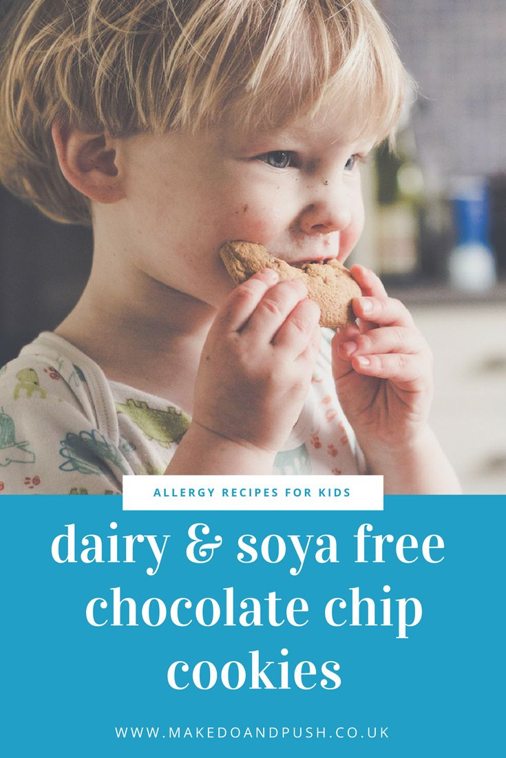 Dairy and Soya Free Chocolate Chip Cookies