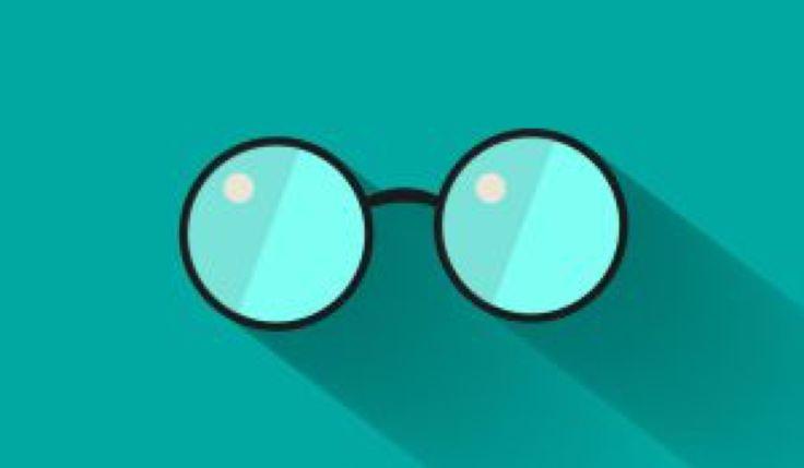 Flat Glasses by GrubyKisiel on @DeviantArt