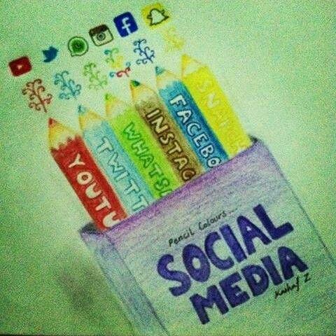 Tužky jako sociální sítě? Dost dobrý nápad!