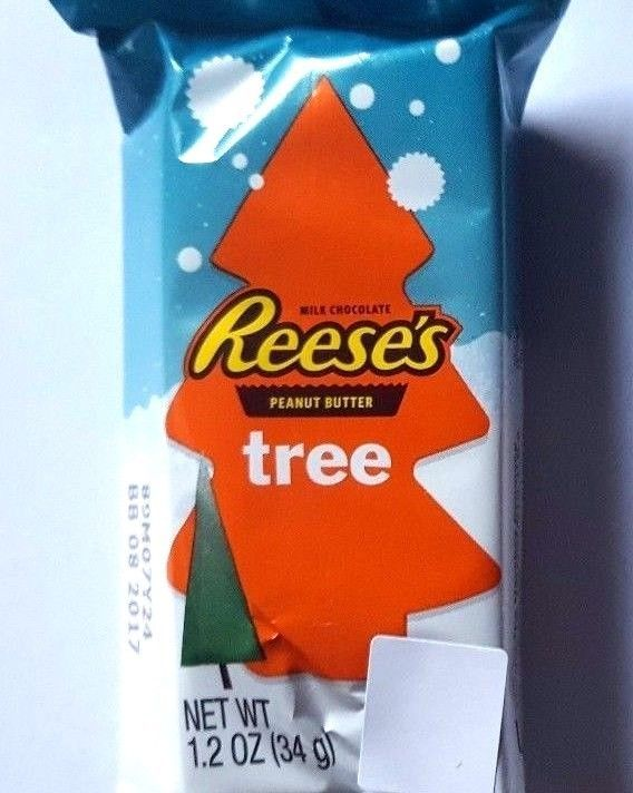 Hershey s Reeses Peanut Butter Christmas Tree 34g - American Reeses Candy