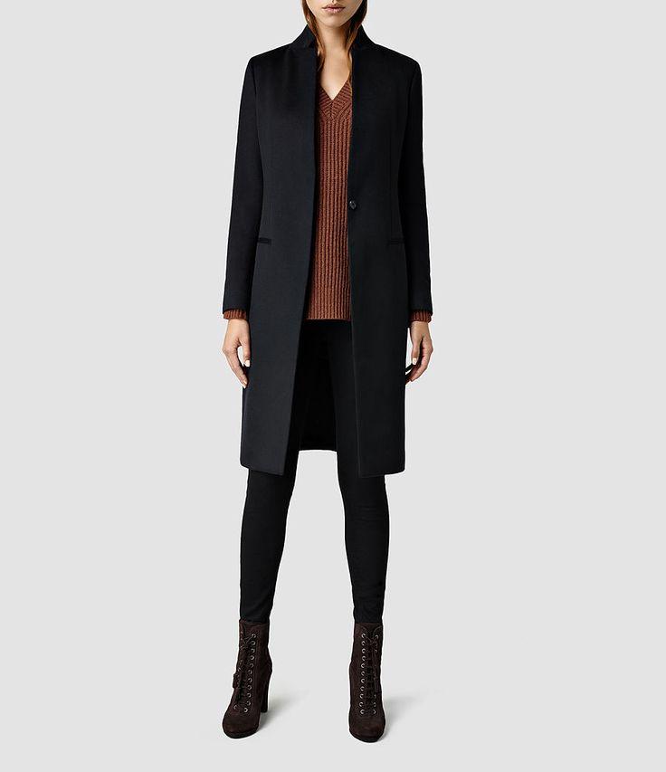 Damen Eryn Coat (Black) -
