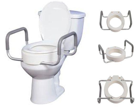 Handicap Raised Toilet Seats Elongated 1 Just Toilets