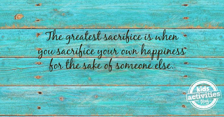 The Greatest Sacrifice - Quote about Serving