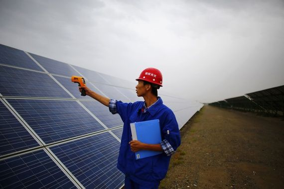 Why China's Solar Building Boom Is Good for the United States    China will install a third of the world's photovoltaic capacity next year—and that means cheaper solar panels for the U.S.   China is on track to install a record 12,000 megawatts of solar panels in 2014, according a report released today. At peak output, that's the equivalent of a dozen huge nuclear power plants.