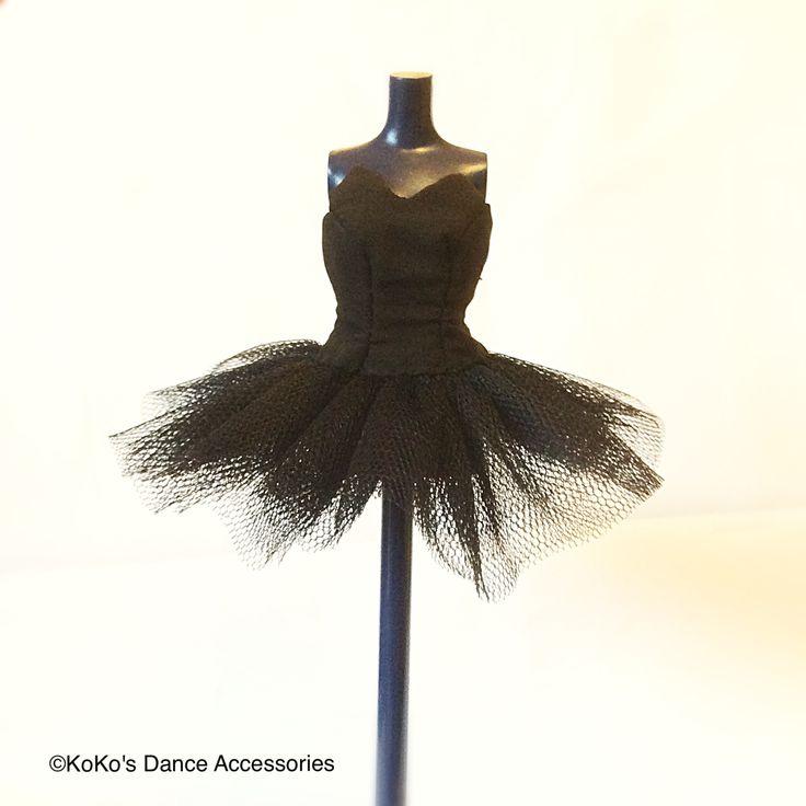 Guess what our next miniature tutu is going to be!  #miniaturetutu #minitutu #kokosdanceaccessories #ballettutu #tutu #balletaccessories #blacktutu #dolltutu #tutufordolls #blacktutu