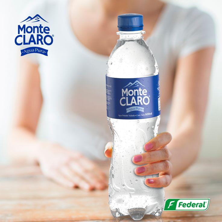 ¡Que no te falte!  Mantener siempre tu cuerpo bien hidratado te hará ver y sentir muy bien.  #AguadeVida