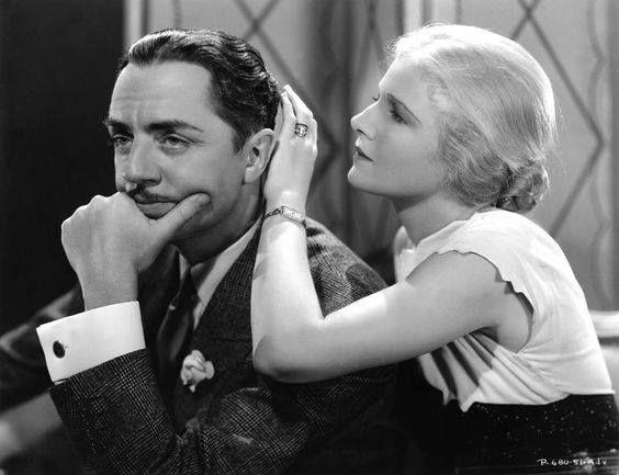 "William Powell, Ann Harding - publicity still - ""Double Harness"" 1933"