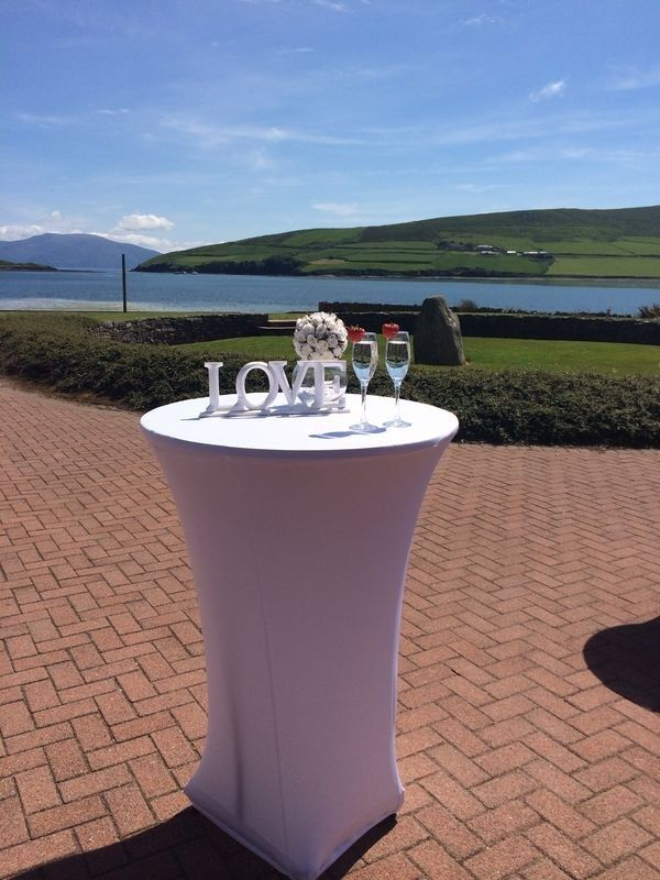 Dingle Skellig Hotel, magnificent views of Dingle Bay #weddingsinkerry #Kerry #weddings #marriage