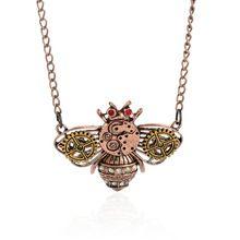 Vintage steampunk stile della collana del gufo/ape/cuore/serpente ciondolo(China…