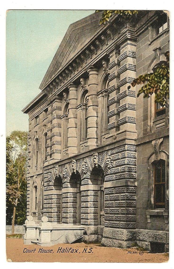 Court House Halifax Nova Scotia Postcard | eBay