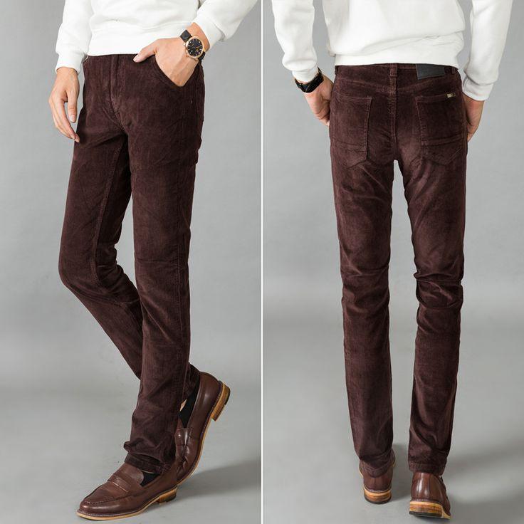 Cheap Affari pantaloni di velluto a coste sconvolto scatola metallica diritta di coltiva la sua moralità, Compro Qualità Pantaloni casual direttamente da fornitori della Cina: