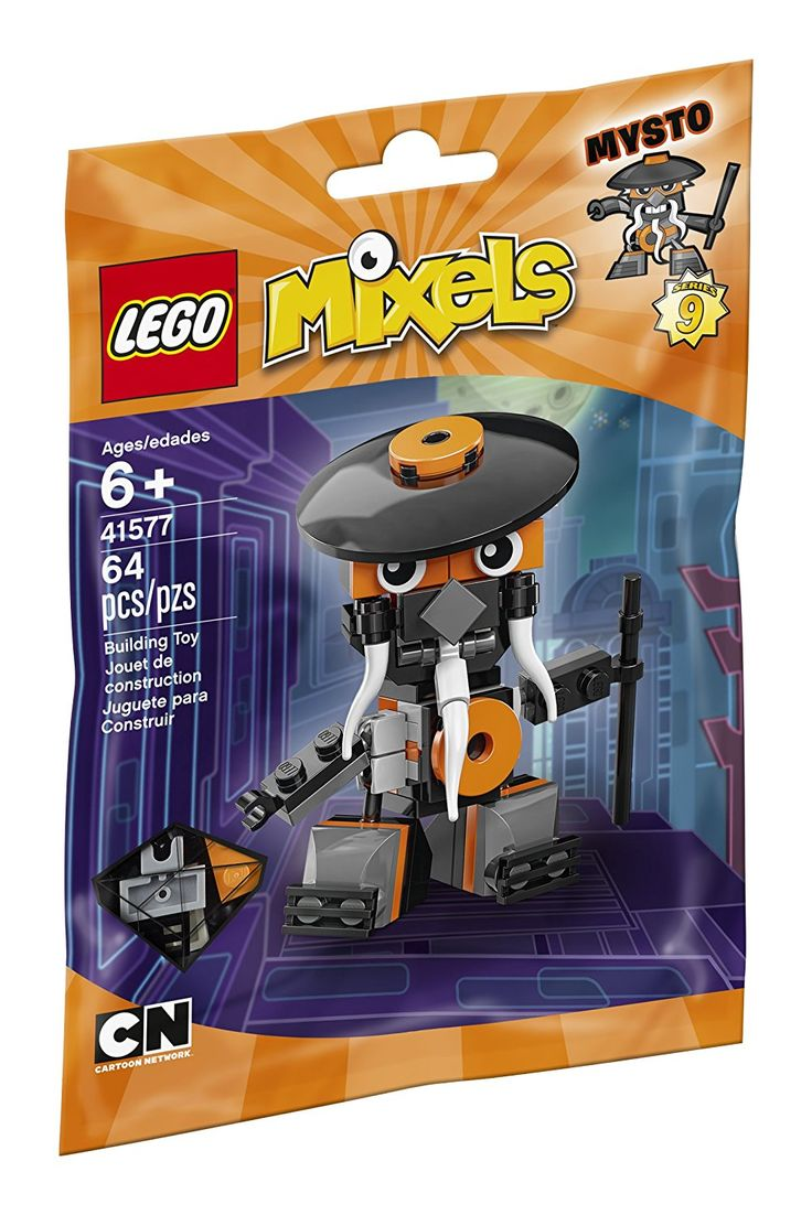 Pin lego 60032 city the lego summer wave in official images on - Lego 41577 Mixels Series 9 Mysto From The Nindjas Tribe Sealed Foil Pack