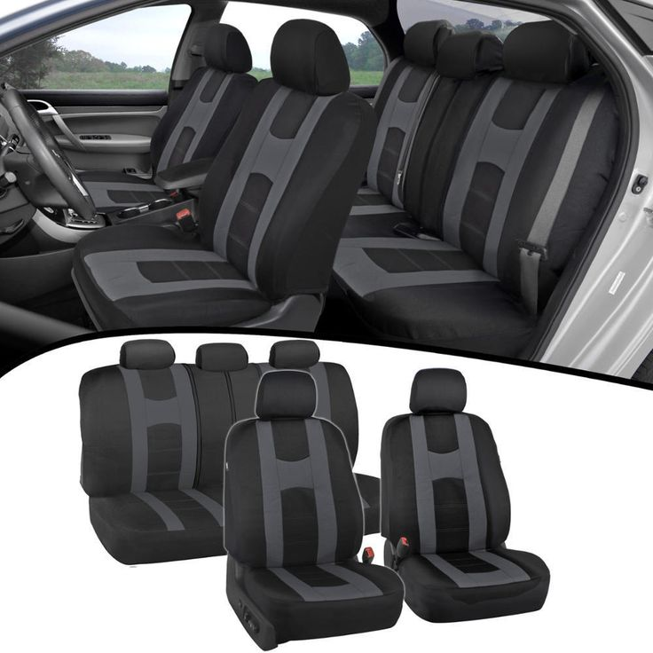 Awesome Great Car Seat Covers For Auto Charcoal New Design Poly Pro Cover Snug Semi Custom