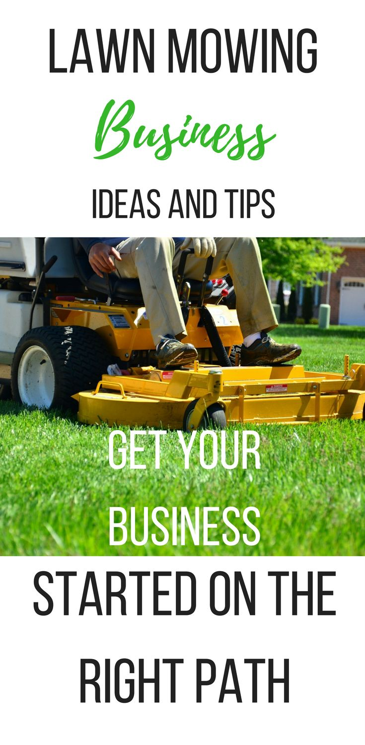 Learn lawn mowing business ideas and tips, so you can start your own lawn care business the right way.