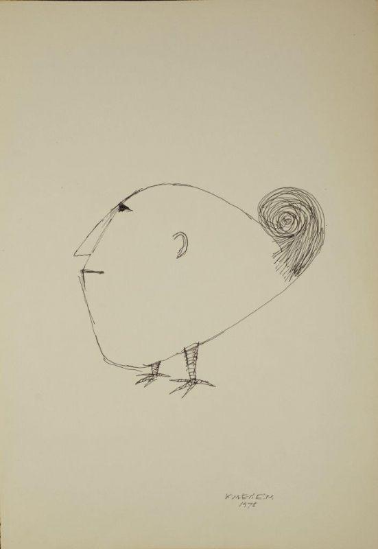 Sem Titulo 169)09 1978 Chinese Ink x Paper 50cm x35cm #JorgeVieira #sculpture #SaoMamede #art #drawings #visit #lisbon #gallery