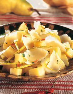 Patate, pere e parmigiano con olio al peperoncino - Tutte le ricette dalla A alla Z - Cucina Naturale - Ricette, Menu, Diete
