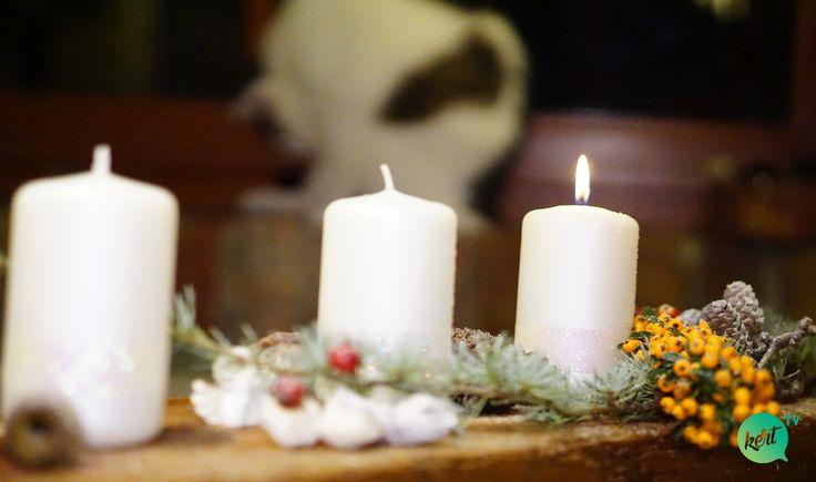 DIY adventi, karácsonyi asztalközép, asztaldísz-videó Mcmenemy Márkkal advent centerpiece