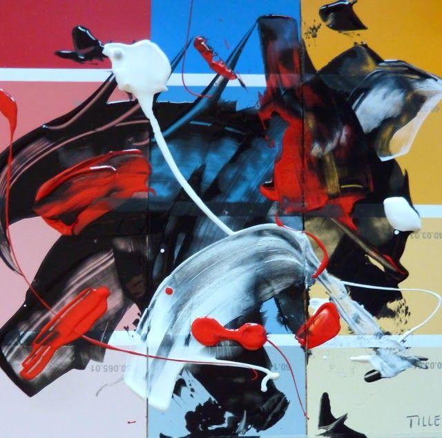 MetropolisBlues, ZeitBilder und Texte, Kunstblog von Fred Tille, Malerei: Geplanter Zufall und politische Positionierung
