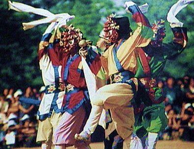 Korean Mask | Korean Mask Dance