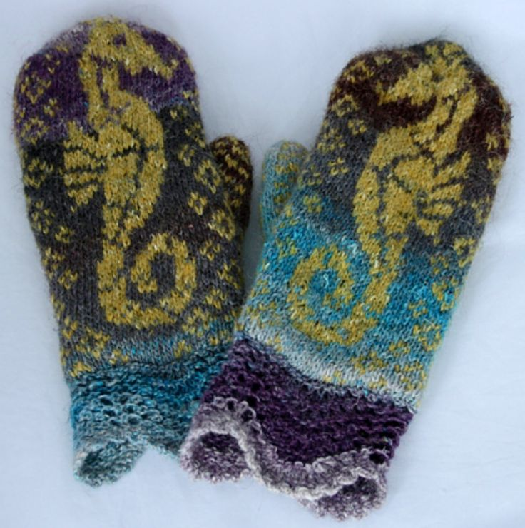 122 best Beautiful Knitted Mittens and Gloves images on Pinterest ...
