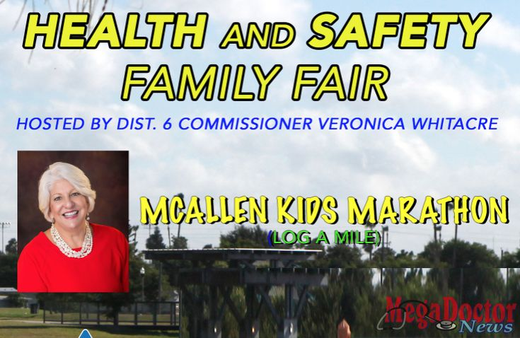 Texas Border Business Various City of McAllen departments on hand to offer information, children can log mile for Kids Marathon WHO: District 6 Commissioner Veronica Whitacre McAllen Public Library McAllen Fire Department McAllen Police Department Run, Ride and Share McAllen Farmers Market WHAT: Health & Safety Family Fair WHEN & Saturday, October 28, 2017 8:30 …