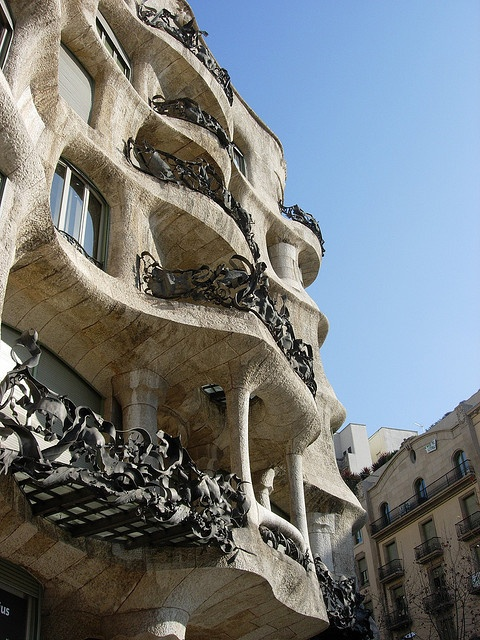Casa Mila,   Barcelona More stairs than I every want to see again!!!
