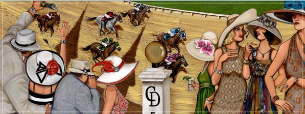 kentucky derby hats 2009   Purchase the Official 2009 Kentucky Derby Poster for $40