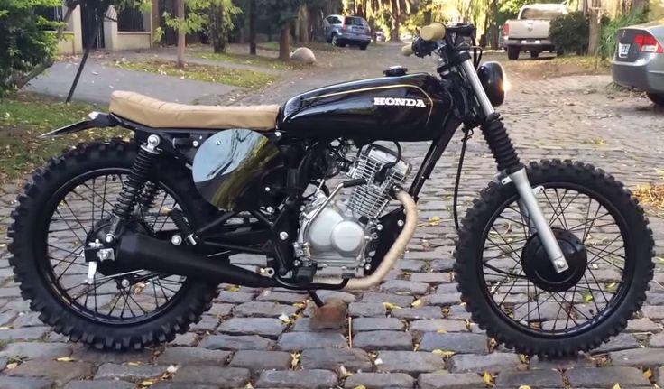 Honda Tool 125cc to Cafe Racer