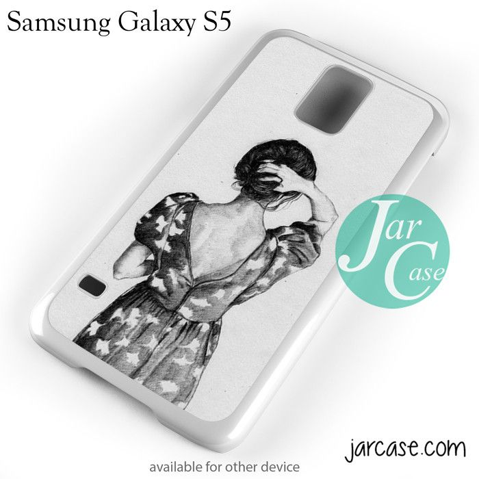 vintage girl YP Phone case for samsung galaxy S3/S4/S5