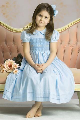 Light blue dress 4t impact