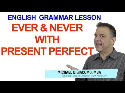 Ever & Never with the Present Perfect – English Grammar Lesson | Happy English - Free English Lessons