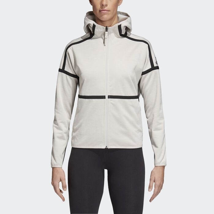 adidas Z.N.E. Reversible Hoodie Pearl Womens | Products in