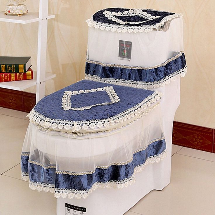 High Grade Lace Three piece Set Toilet Seat Cover U shaped Overcoat WC Cover. 17  best ideas about Toilet Mat on Pinterest   Toilet ideas