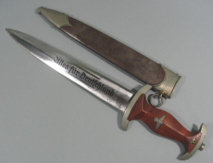 "Early SA Dagger by ""GEBR. BÖHME NACHFL. BROTTERODE"""
