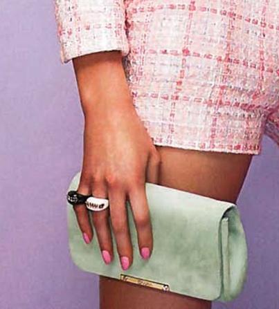 On #Cosmopolitan: Edward #Achour Paris tailleur, #Ballin #pochette & #Chimento Athena #rings