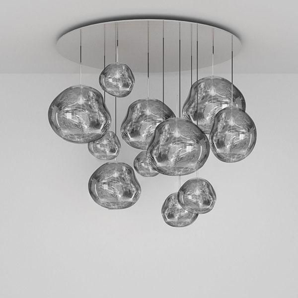 Melt Chrome Mega Pendant System By Tom Dixon Wall Lamp Design Tom Dixon Lamp Floor Lamp Design