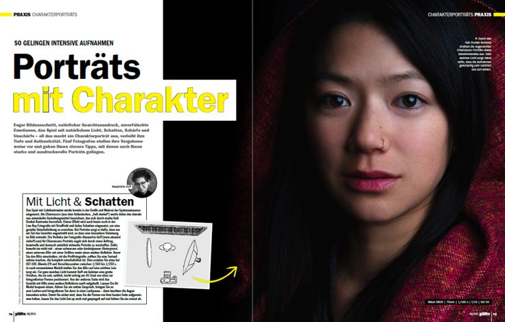 Portraits With Character: Alexandria Huff's Portrait of Katherine Cheng in Digital Photo Magazine